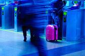 введите станции метро — Стоковое фото
