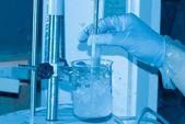 Science test homogenate — ストック写真