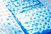 Wissenschaft test zentrifugenröhrchen — Stockfoto