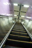 移动自动扶梯 — 图库照片