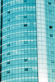 Modern office building window — Stockfoto