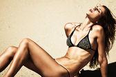 Body in bikini — Stock Photo