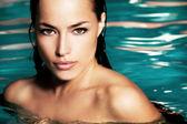 在水中的美丽 — 图库照片