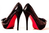 обувь на высоких каблуках — Стоковое фото