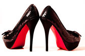 High heels shoes — Stok fotoğraf