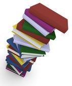 Stos książek — Zdjęcie stockowe