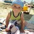 Little boy of the beach — Stock Photo