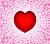 Heart on hearts — Stock Photo