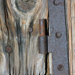 Rusty hinge — Stock Photo