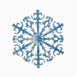Snowflake shape decoration — Stok fotoğraf