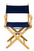 Director's Chair Isolated — Stock Photo