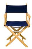 Pojedyncze krzesło reżysera — Zdjęcie stockowe