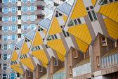 Cube houses — Stock Photo