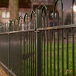 gröna staket — Stockfoto