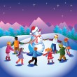 Snowman — Stock Vector #6980710