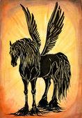 Pegasus — Stock Photo