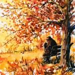 Autumn scene — Stock Photo