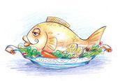 Goldfish — Zdjęcie stockowe