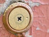 Keyhole over aged — Stock Photo