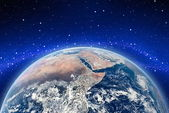 The Earth orbit. — Stock Photo