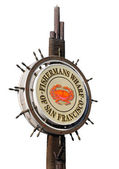Fishermans Wharf Sign — Stock Photo