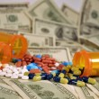 Cost of drugs — Stock Photo