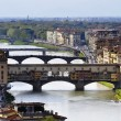 The Ponte Vecchio in Florence — Foto Stock