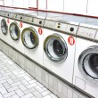 Stockfoto: Laundrette