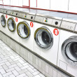 Foto de Stock  : Laundrette