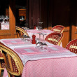 Typical French bistro, Paris — Stock Photo #6777816