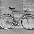 Vintage fixed-gear bicycle — Stock Photo #6777967