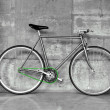 Fixed gear bicycle - Stock Photo