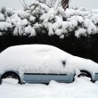 Car in snow — Stock Photo #6778205