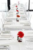 A white restaurant — Stock Photo