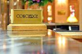 Concierge desk — Stock Photo