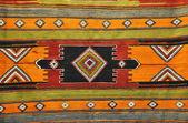 Turkish rug background — Stock Photo