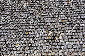 Old wood tiled roof — Stock Photo