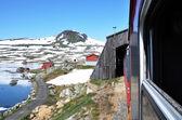 Train in Norway — Stock Photo