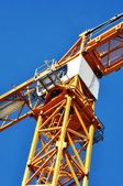 A yellow crane — Stock Photo