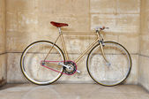 Fixed gear bicycle — Foto Stock