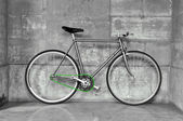 Fixed gear bicycle — Stock Photo