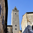 Tower in San Gimignano — Stock Photo
