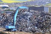 Abfall-sammelstelle — Stockfoto