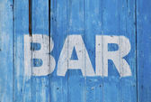 Bar sign — Stockfoto