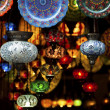Colorful Arabic lanterns — Stock Photo