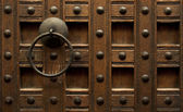 Door detail — Stock Photo