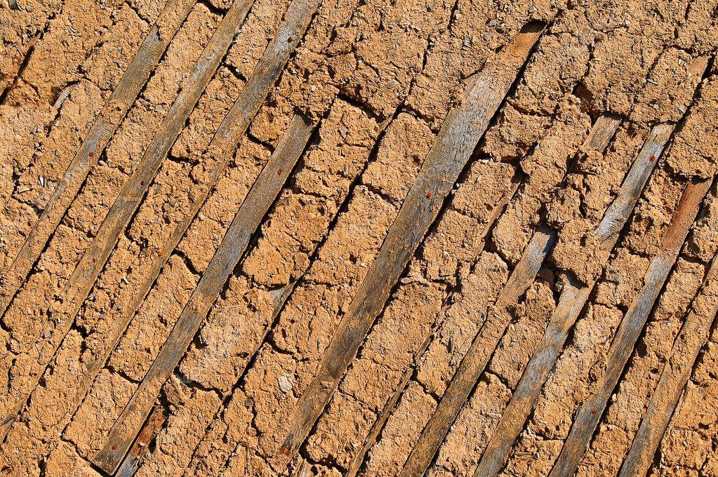 Texture di pareti in muratura antica argilla — foto stock © alesik ...