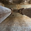Stock Photo: Columns in ancient egyptitemple
