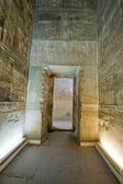 Doorway inside an ancient egyptian temple — Stock Photo