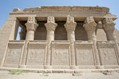 Remains of an ancient egyptian temple — Foto Stock